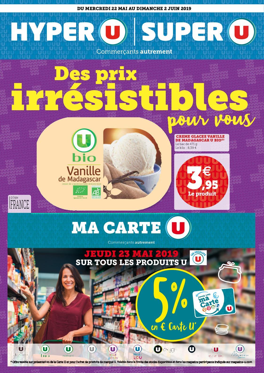 Catalogue Du 22/05 Au 03/06 : Des Prix Irrésistibles