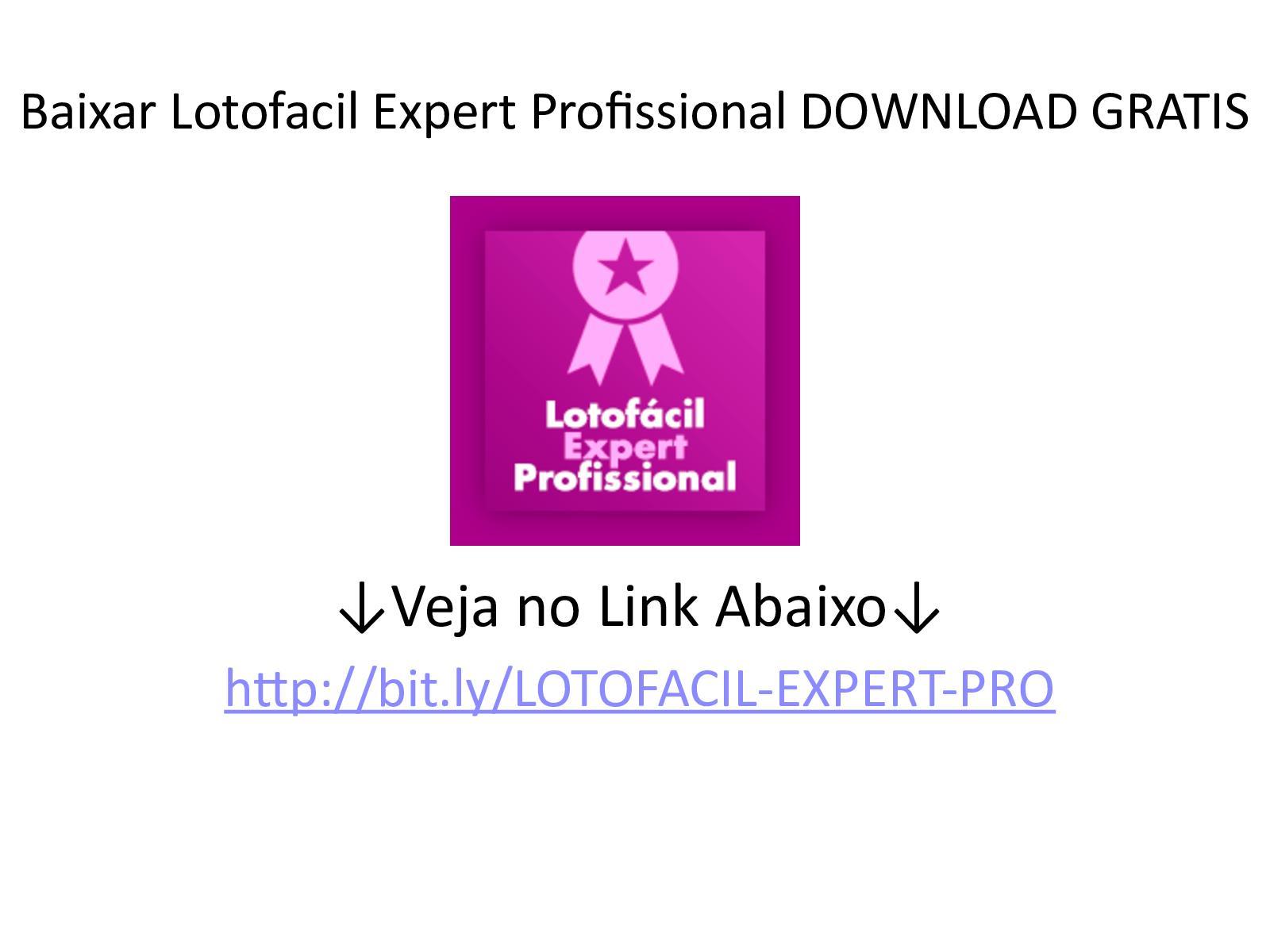 robô lotofacil download gratis