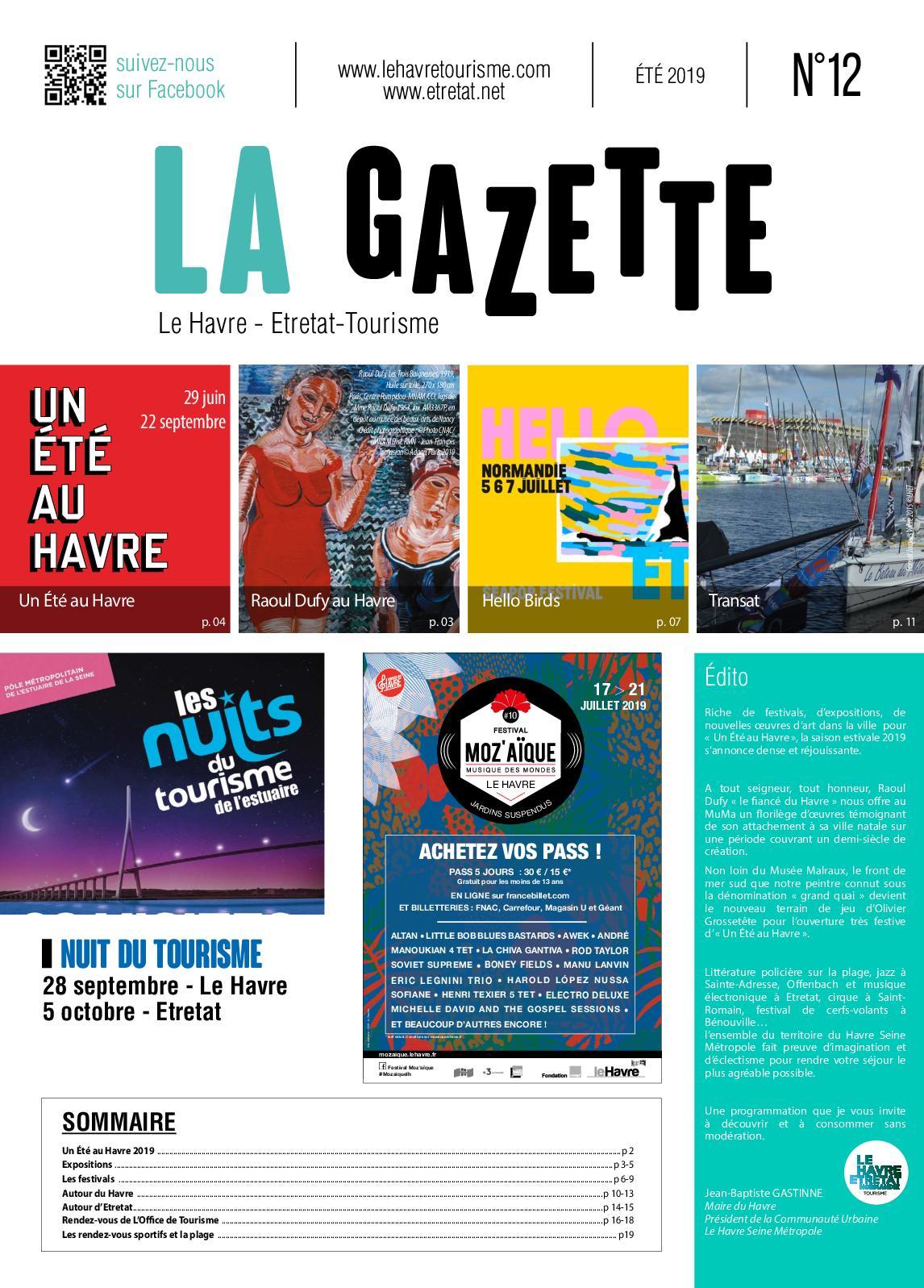 Calaméo Gazette 2019
