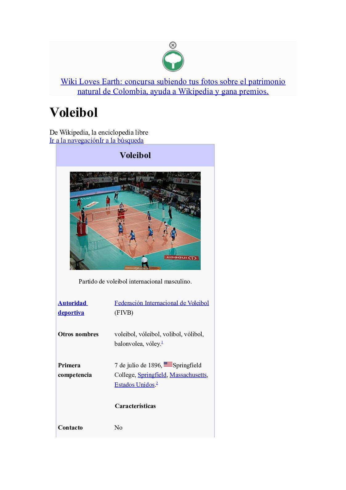 Posiciones defensivas del voleibol wikipedia