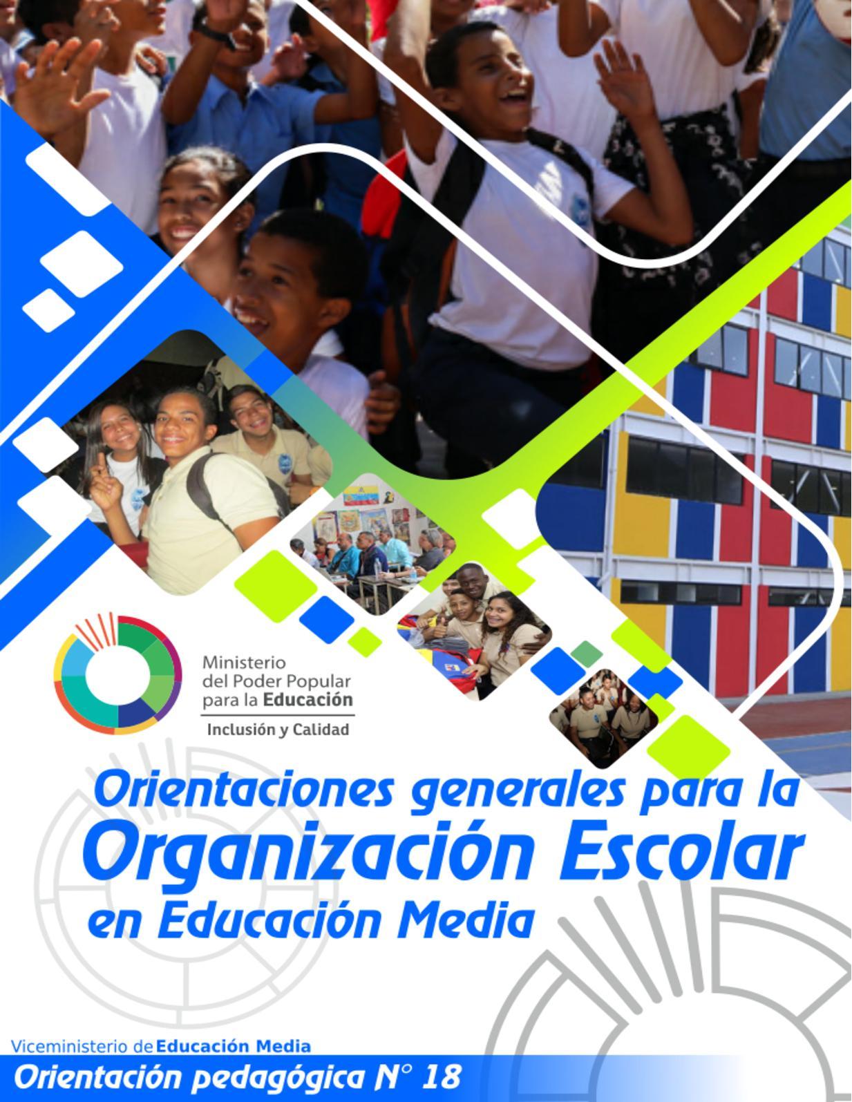 Organización Escolar 2019 2020 (2)