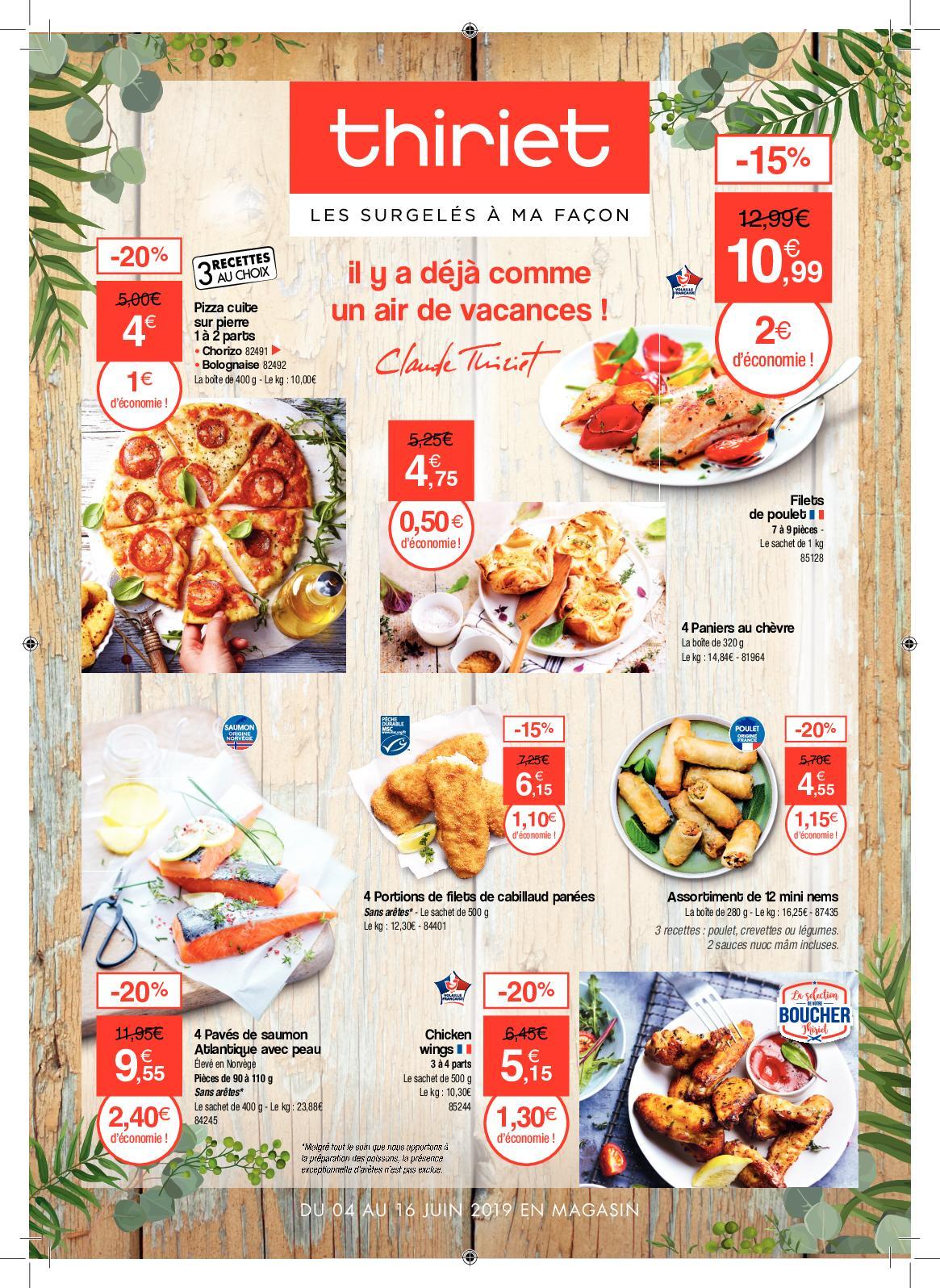 Thiriet Martinique - Catalogue Juin 2019