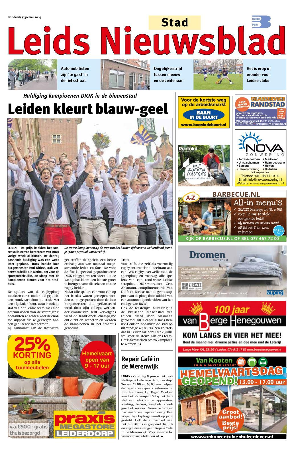 4de333e807208e Calaméo - Leids Nieuwsblad Stad 30 05 2019