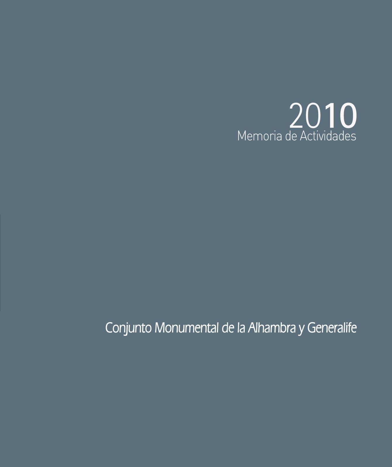 f95141e25 Calaméo - Memoria de Actividades 2010