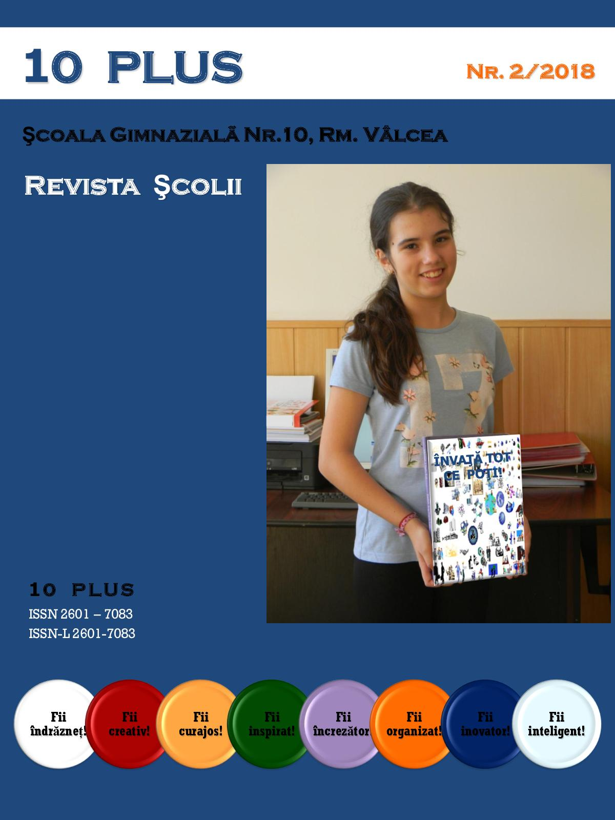 Continutul unei reviste scolare