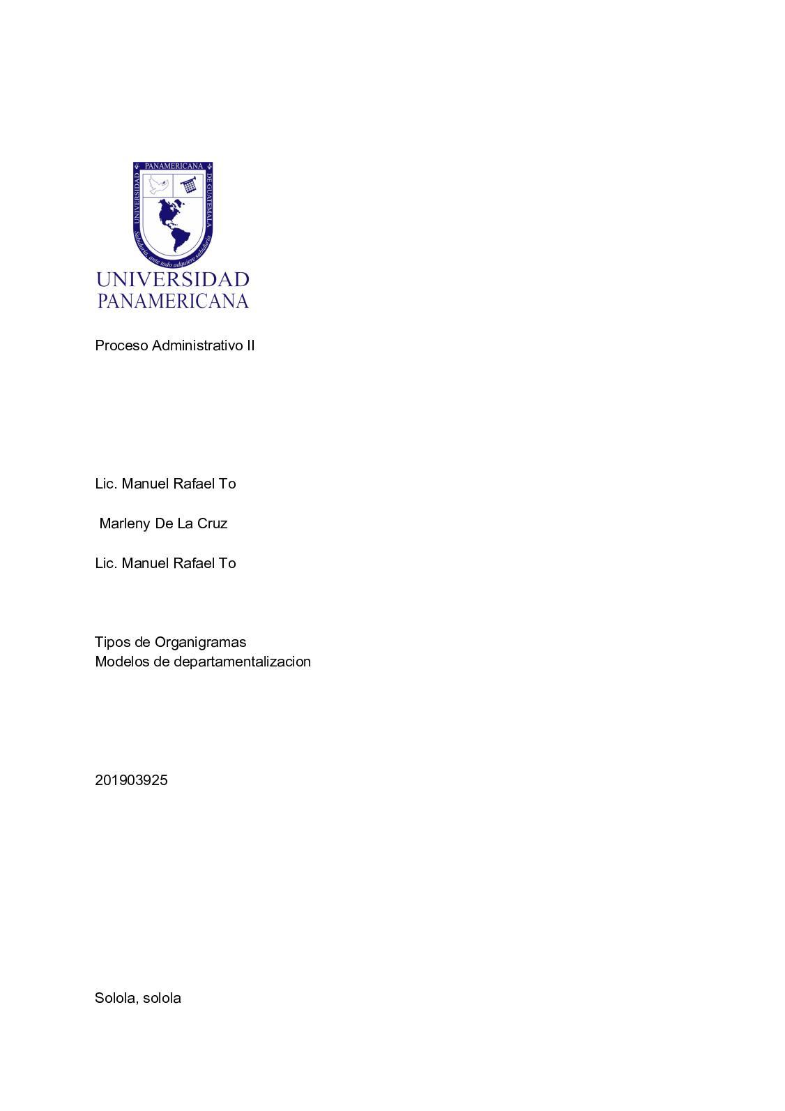 Calaméo Organigrama Vertical