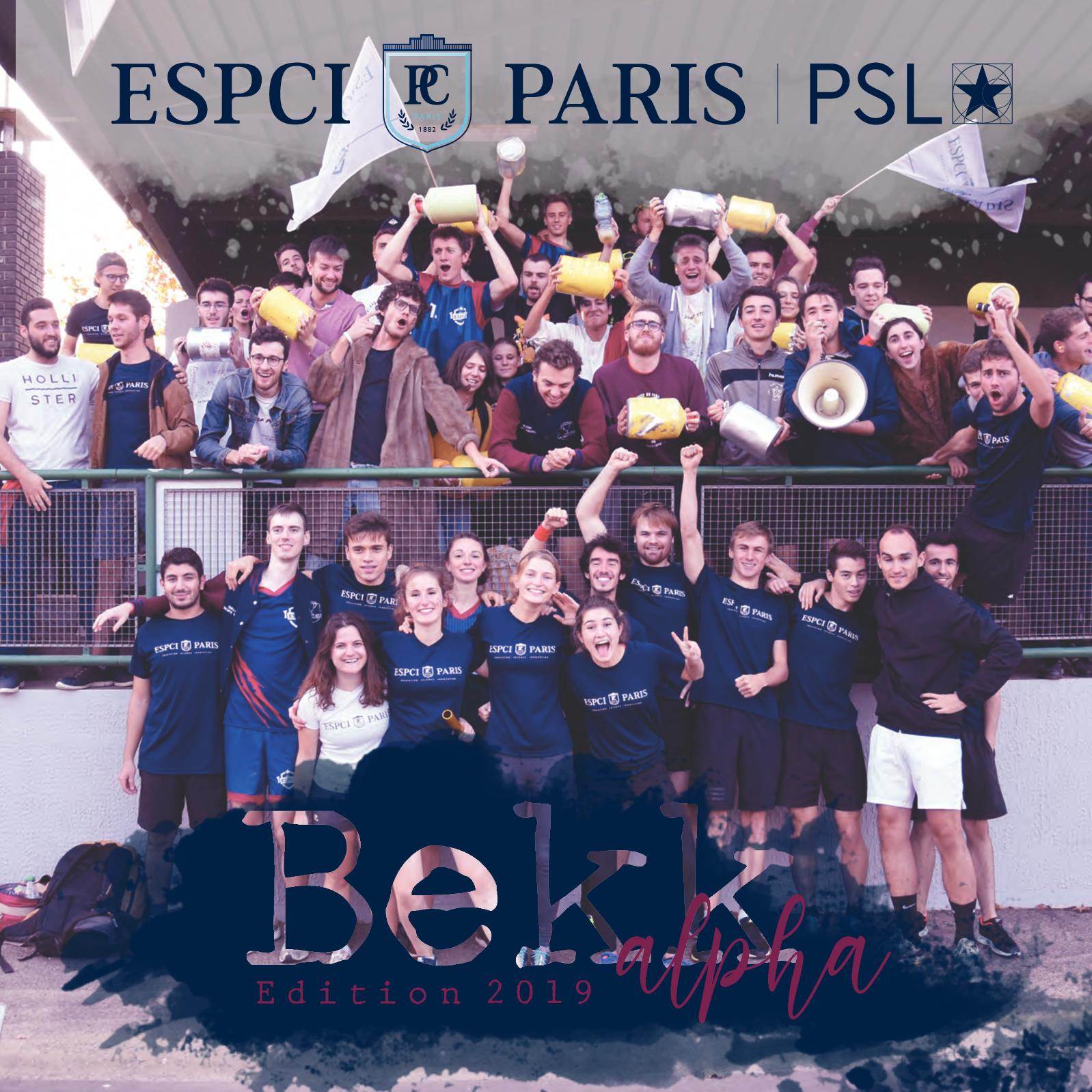 Plaquette Alpha ESPCI Paris 2019
