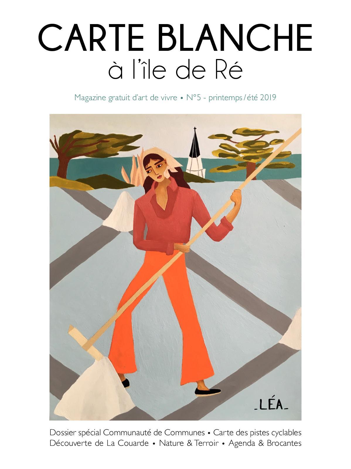 Calaméo Carte Blanche Ile De Ré 2019