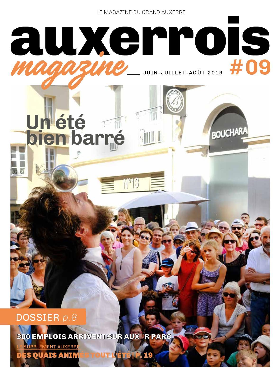 Aout 2019 Juillet Juin Mag Auxerrois Calaméo vmn80Nw