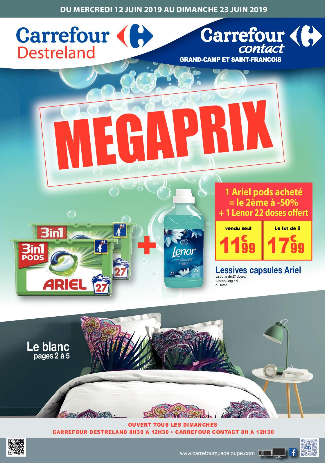 Calaméo - 20190612 Carrefour Destreland Megaprix Catalogue