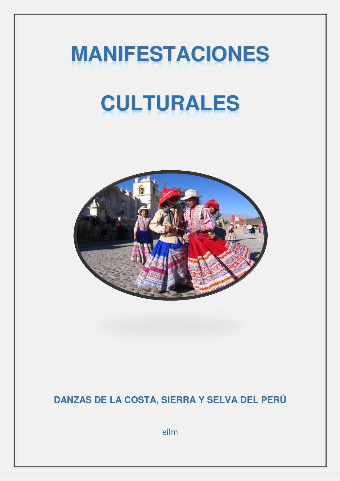 Calaméo Manifestaciones Culturales Danzas Del Perú