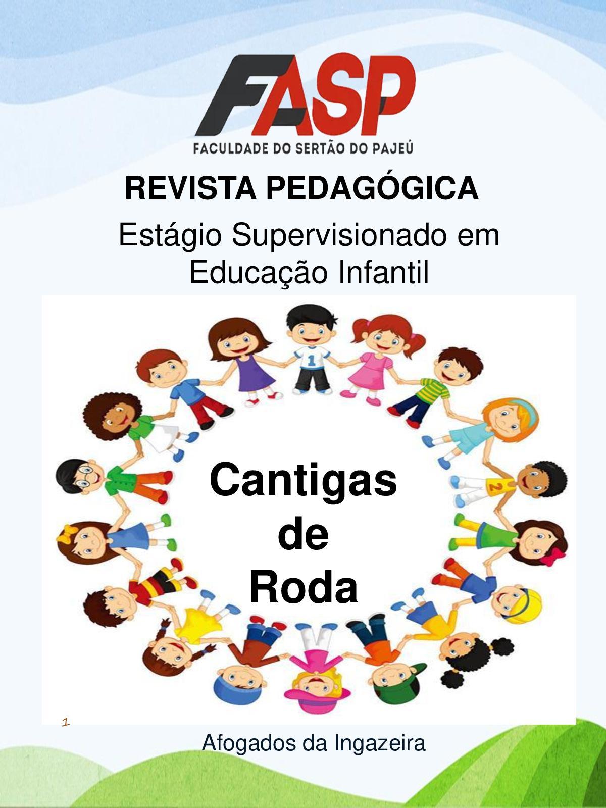 Calameo Revista Pedagogica Cantigas De Roda Iara Maria