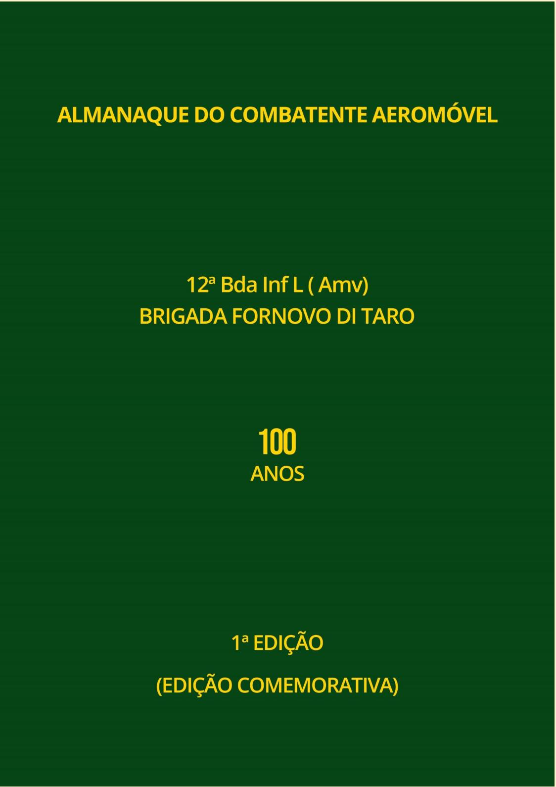 Almanaque Do Combatente Aeromóvel