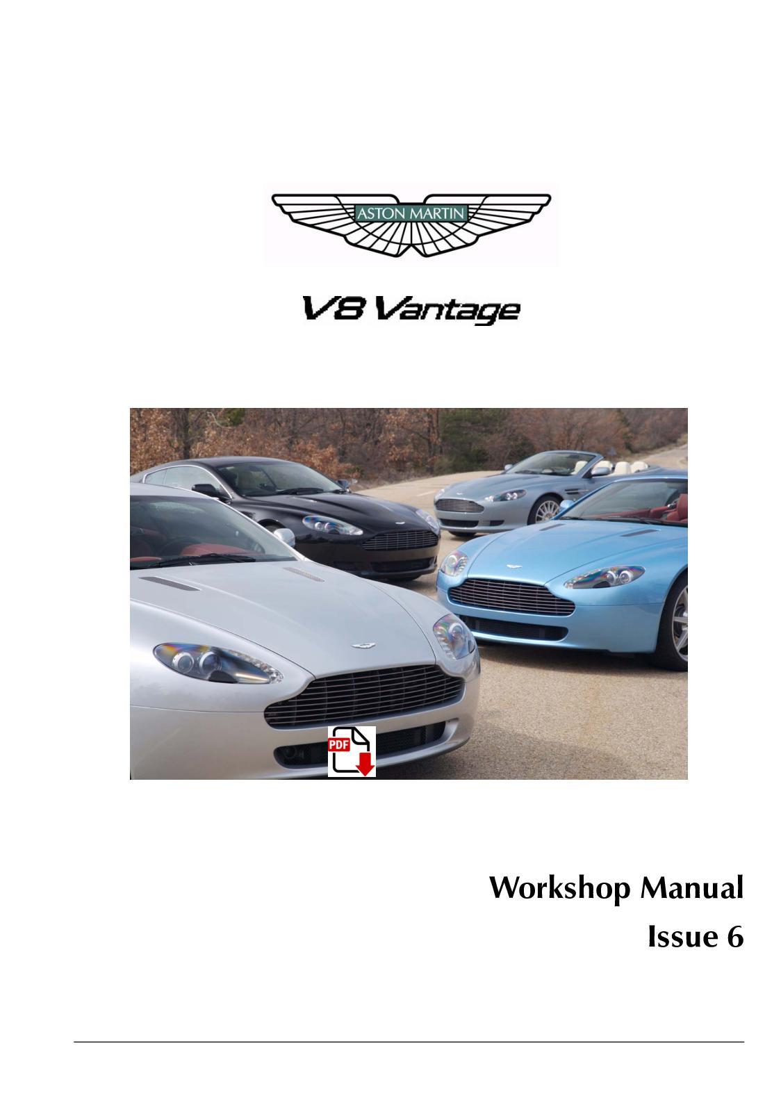Calameo Aston Martin Db9 V8 Vantage Factory Service Manual
