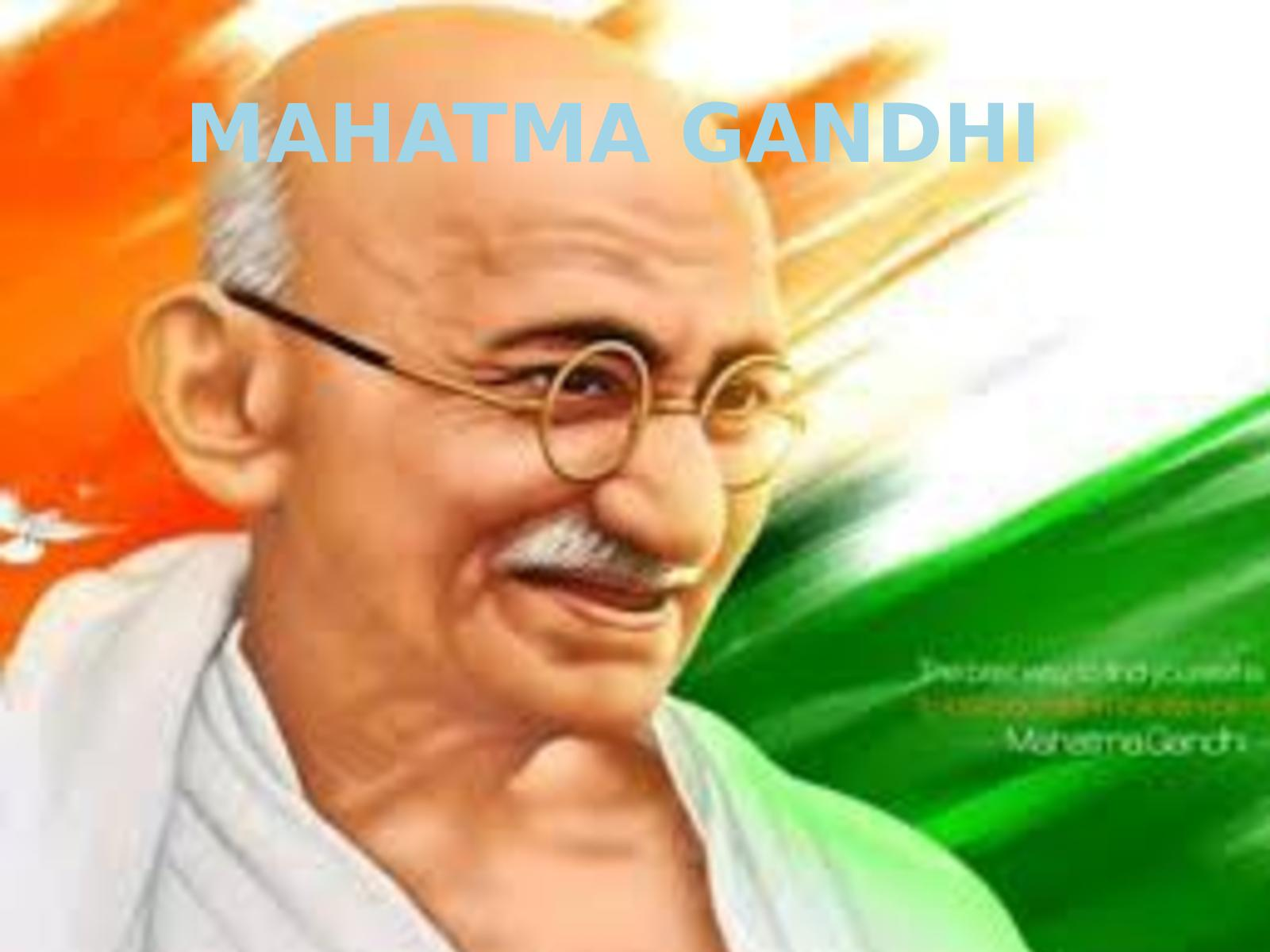 Gandi Picture English calam�o - mahatma gandi