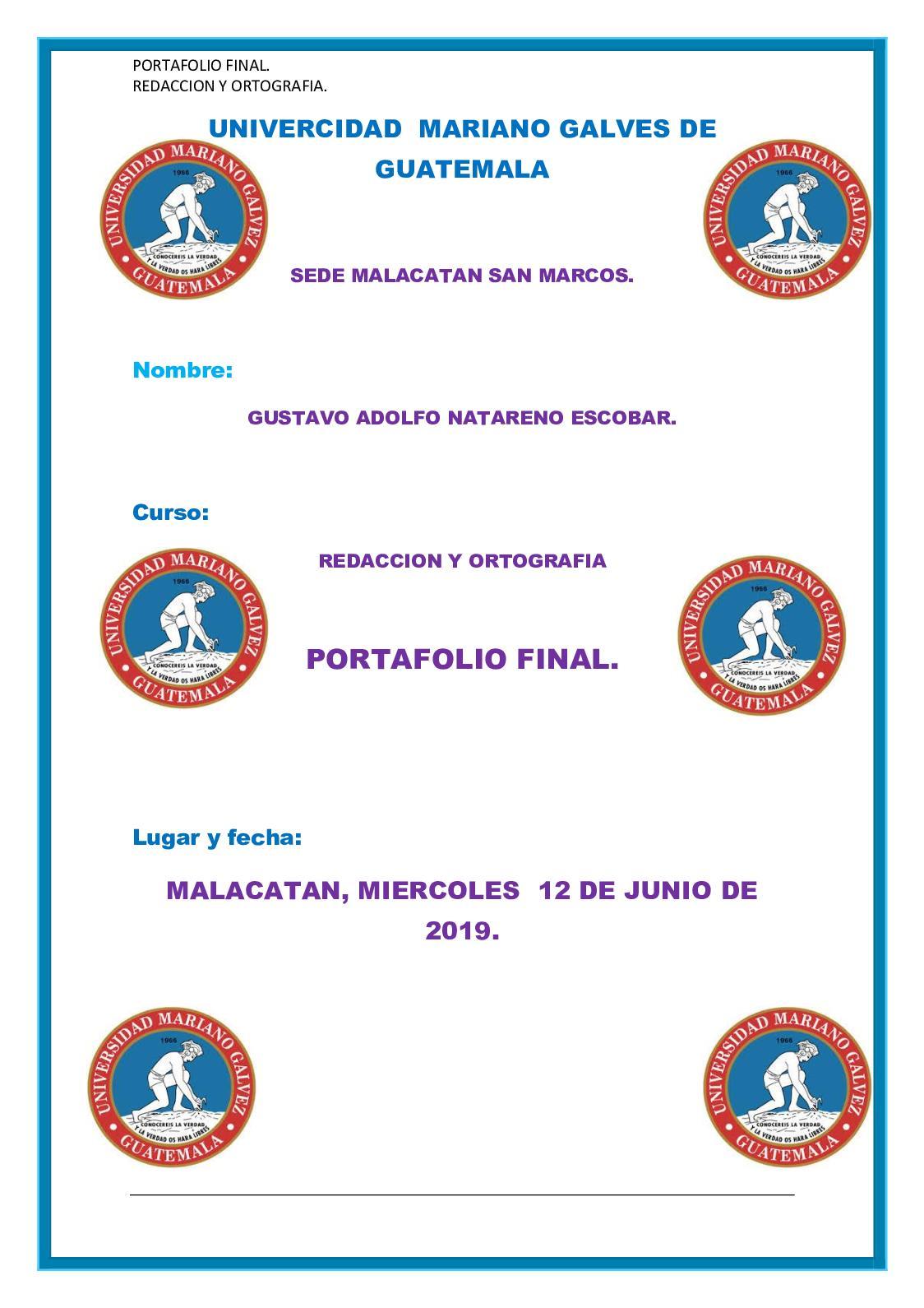 Calaméo Portafolio Final Redaccion Y Ortografia
