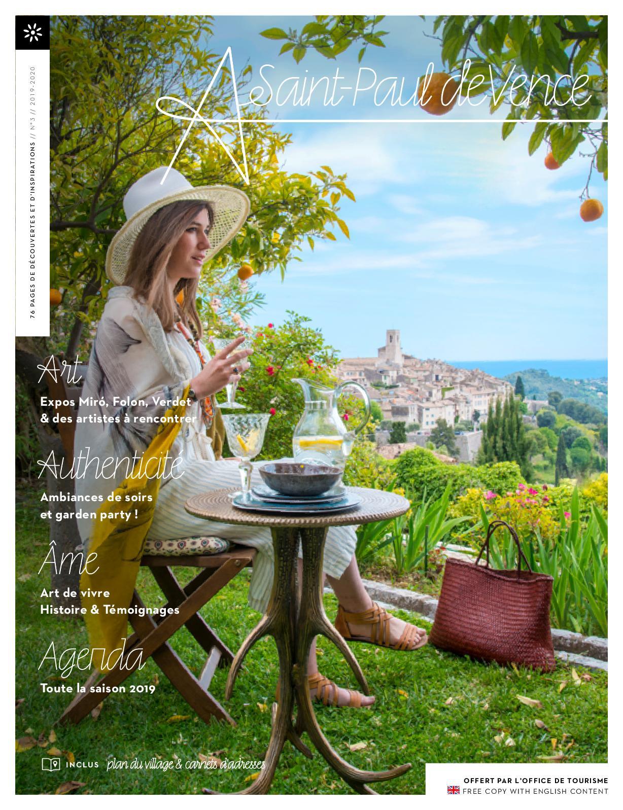 Magazine Saint De Paul Calaméo Vence Destination nO0PkZN8wX