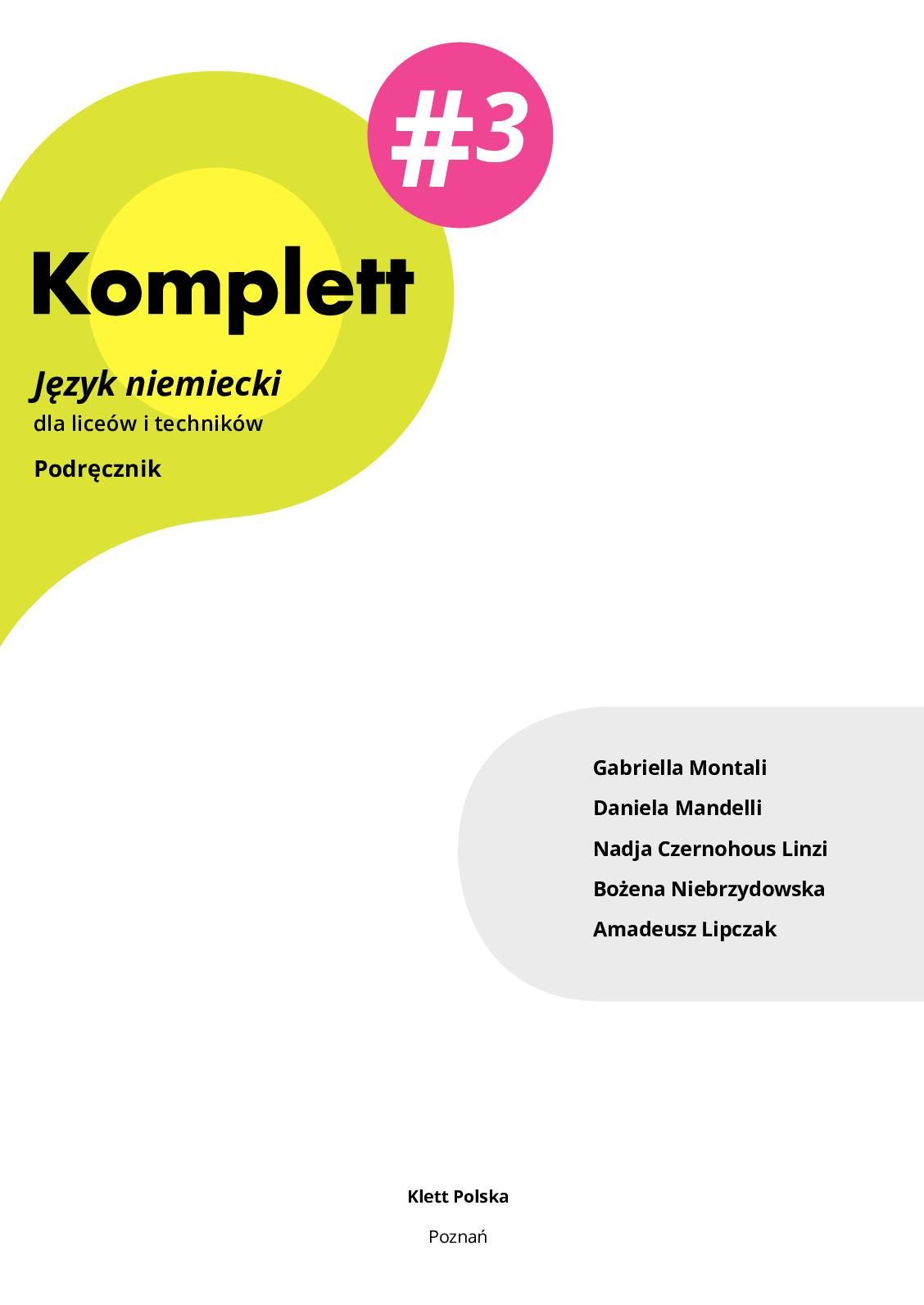 Calaméo Komplett 3 Podręcznik