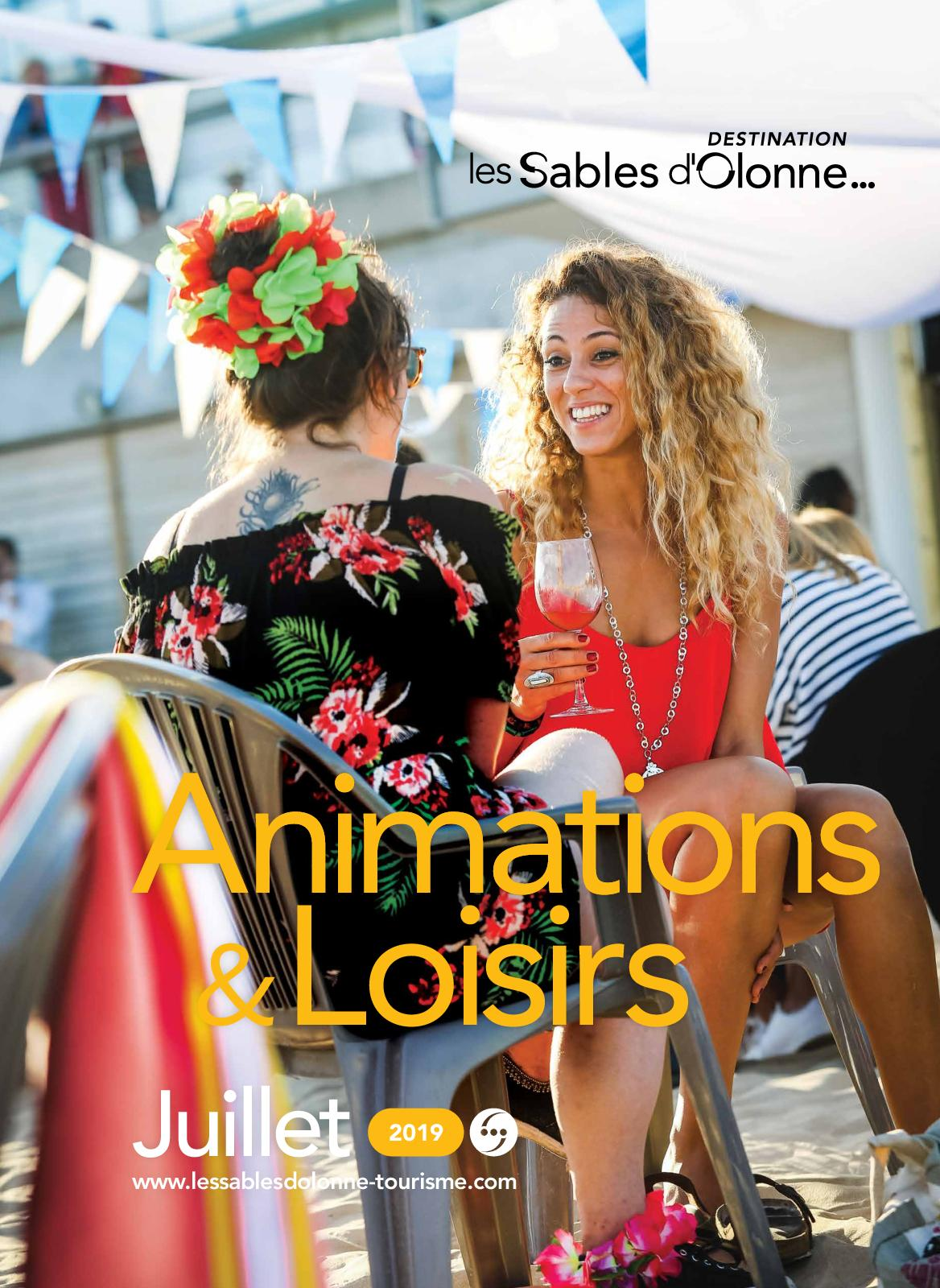 ANIMATIONS Juillet 2019