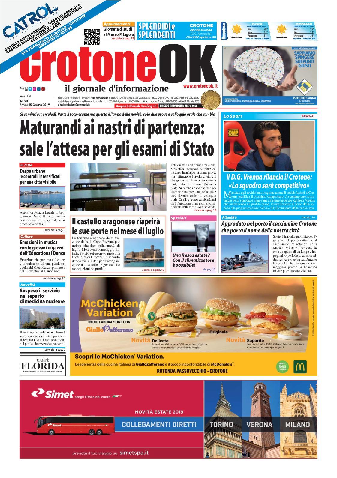 84257dfc4e Calaméo - Giornale CrotoneOk N° 23 / 2019