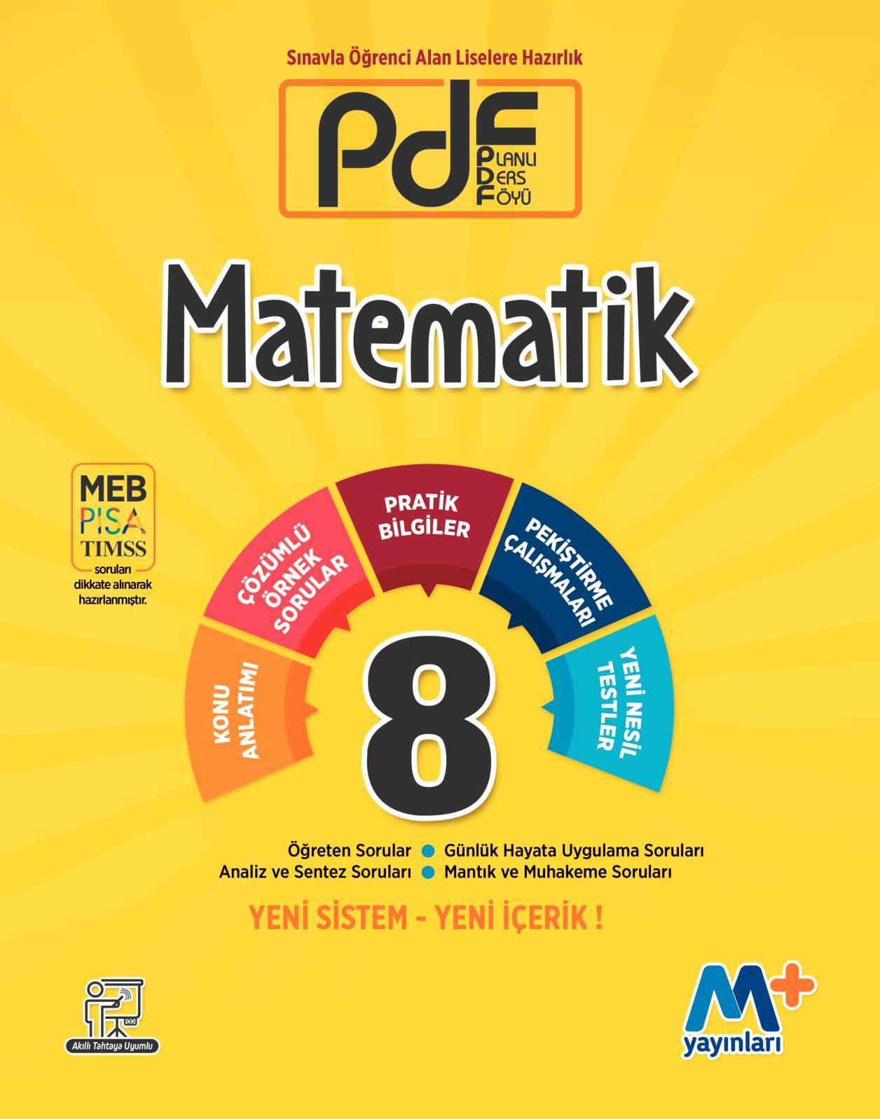 Calameo M Yayinlari 8 Sinif Pdf Matematik Kitabi