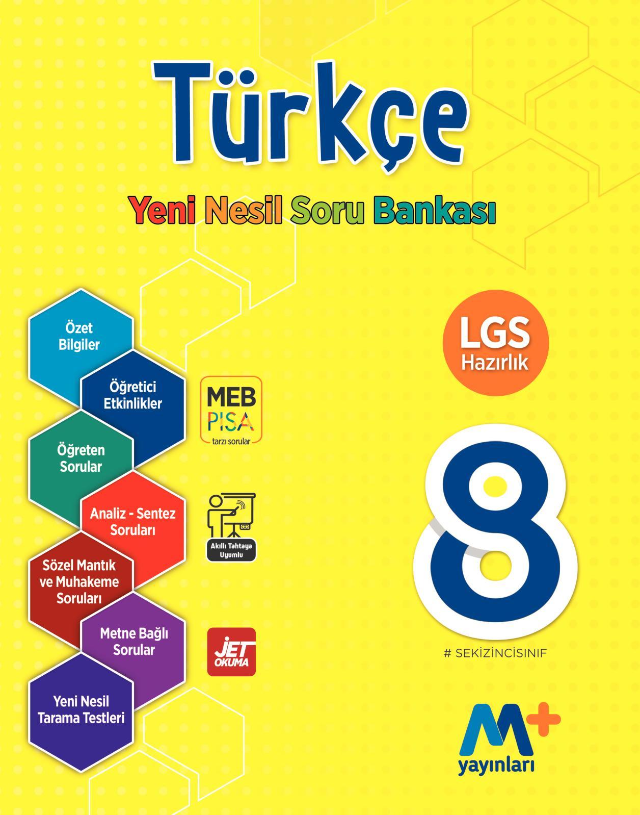 6d39310e20a82 Calaméo - 8. Sınıf Türkçe Yeni Nesil Soru Bankası