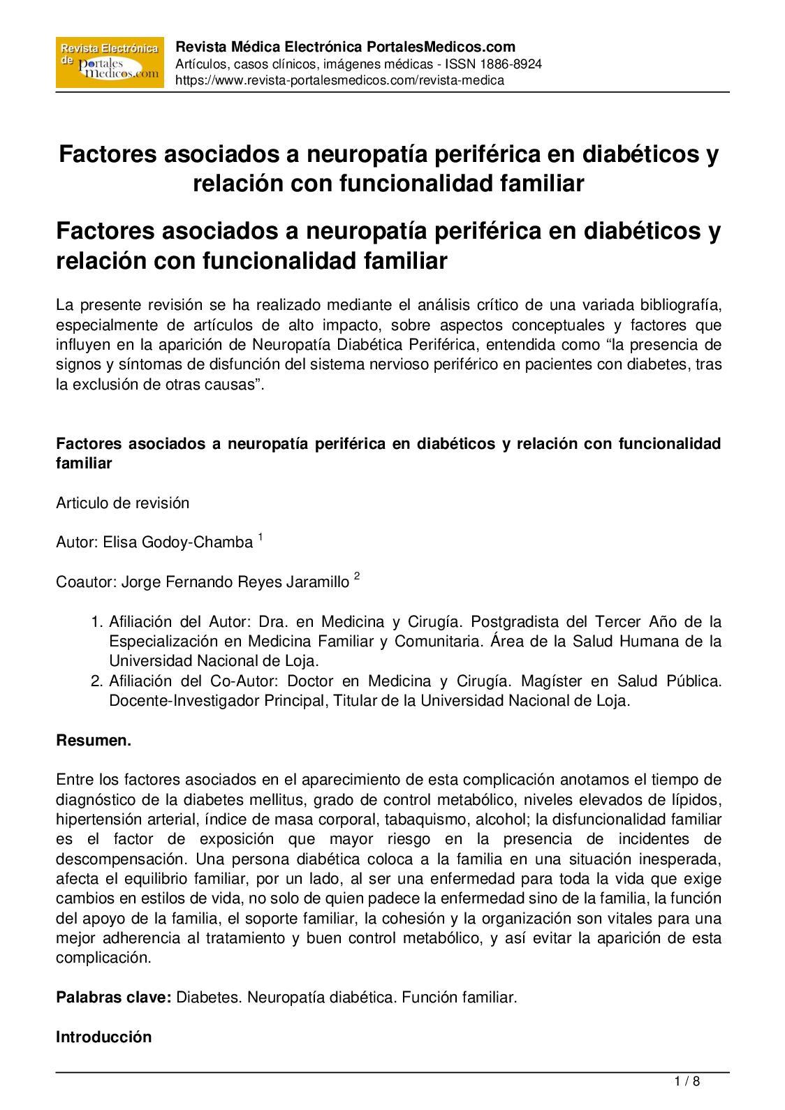 Sin neuropatía diabetes periférica