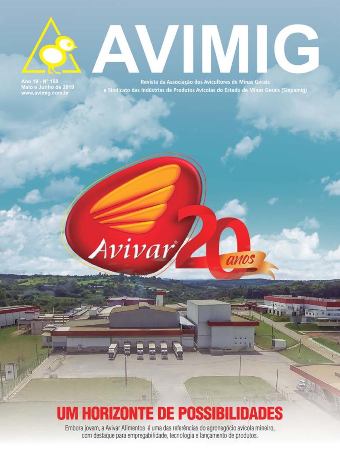 Revista AVIMIG 150 - Maio e Junho 2019