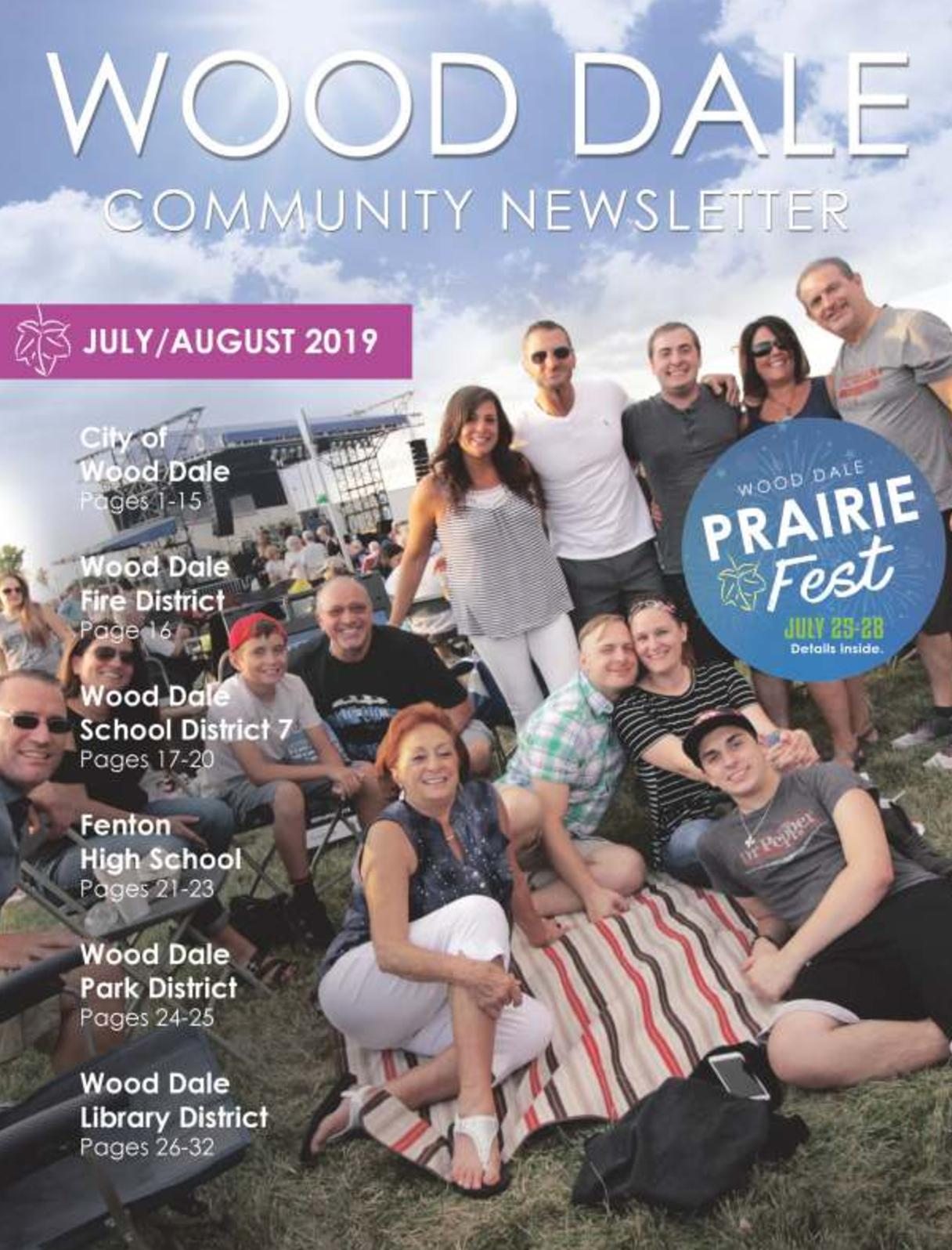 Wood Dale Community Newsletter July/August 2019