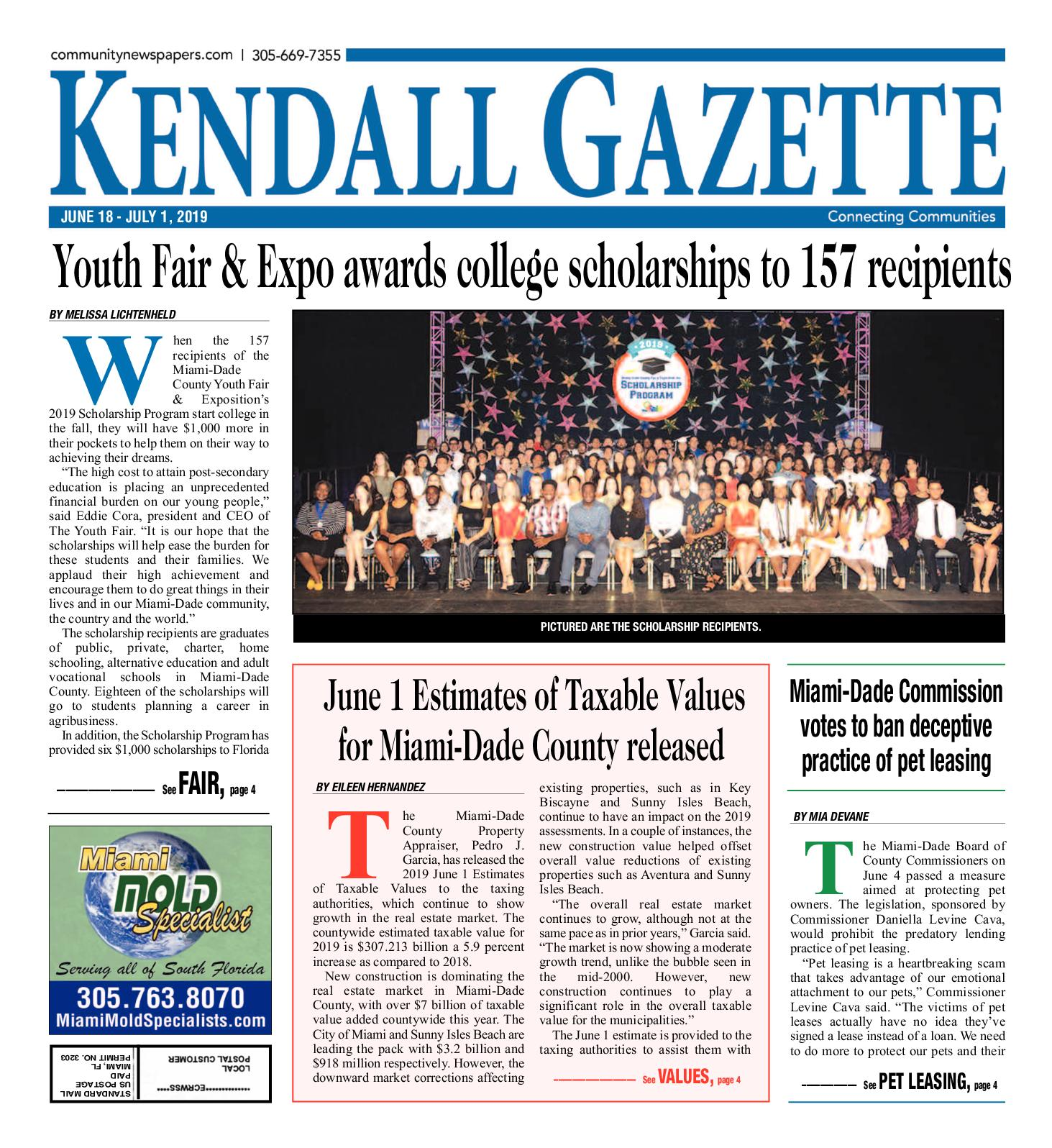 2e933ecfd9b4 Kendall 6.18.2019. by Miami's Community Newspapers