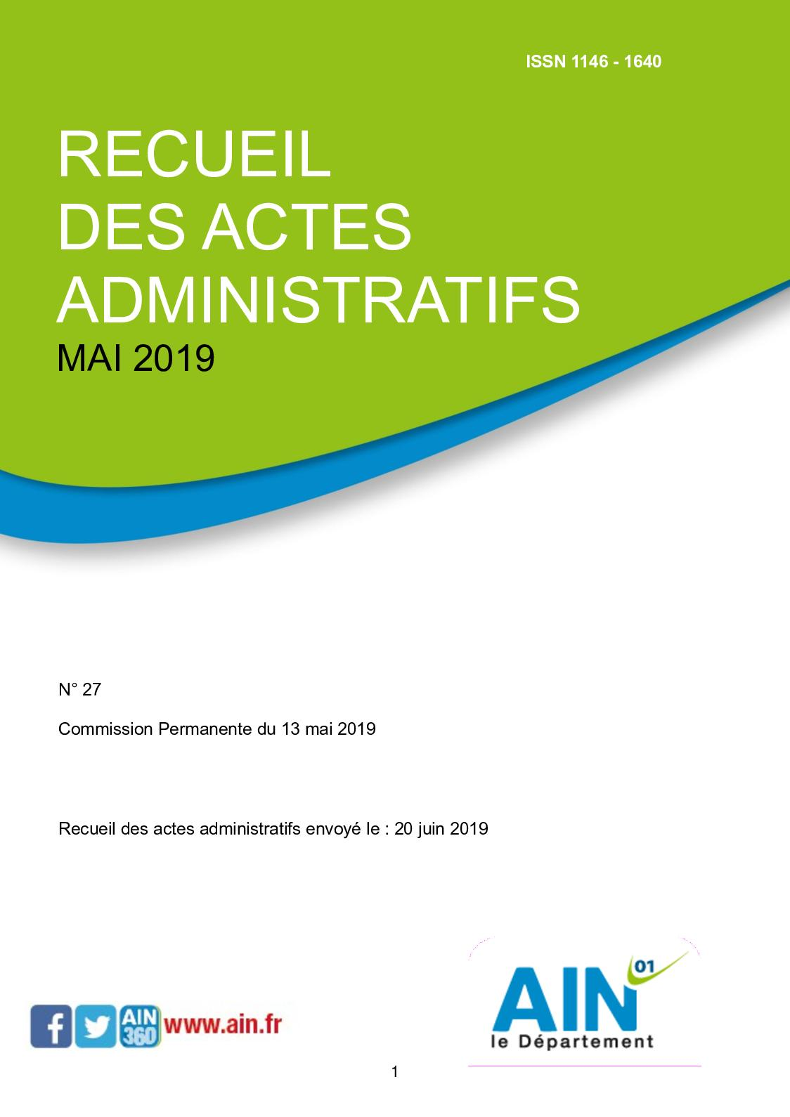 Seda Recueil Calaméo Administratifs Actes Cp052019 nw8POk0