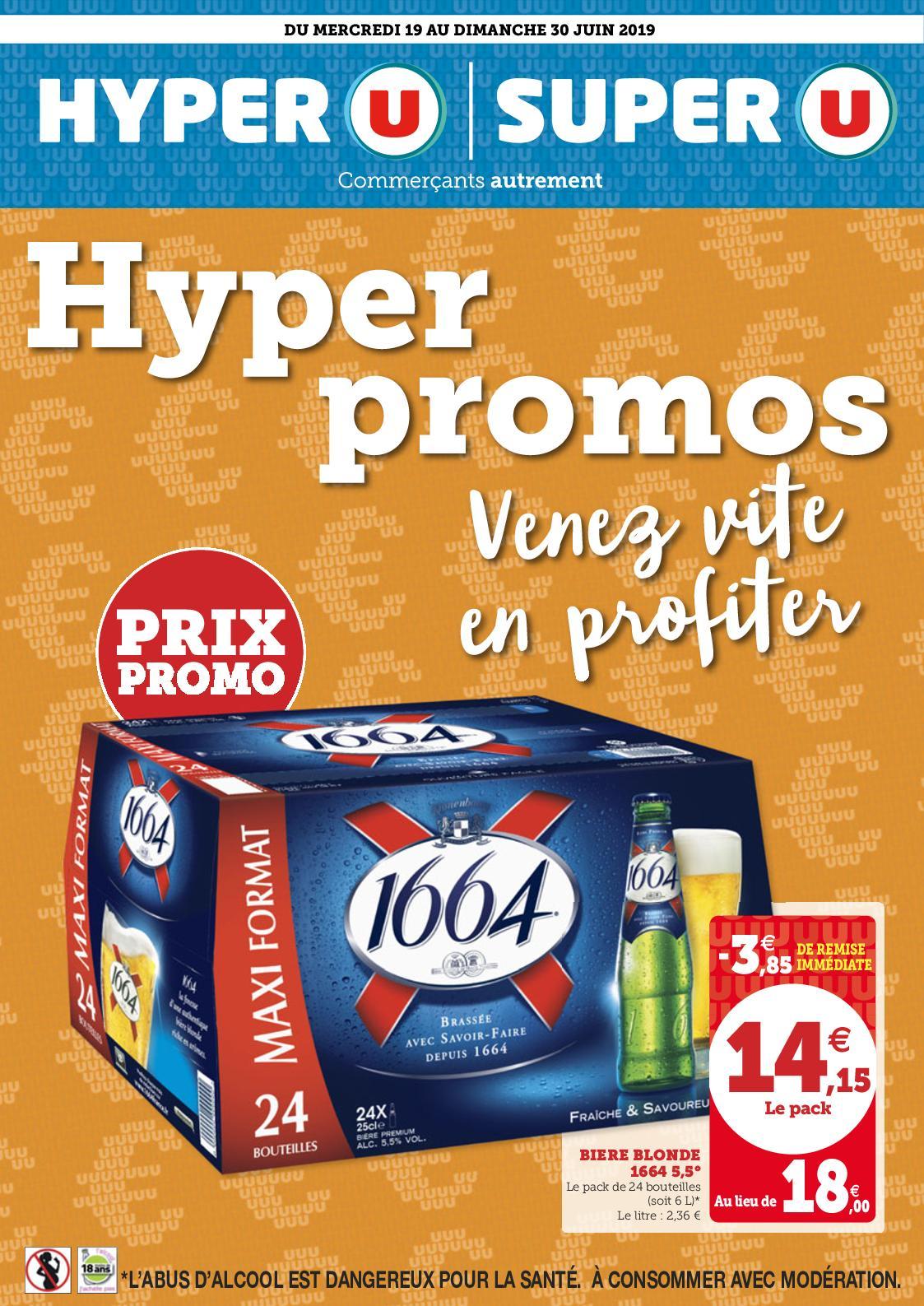 Catalogue du 19/06 Au 30/06 Hyper Promos