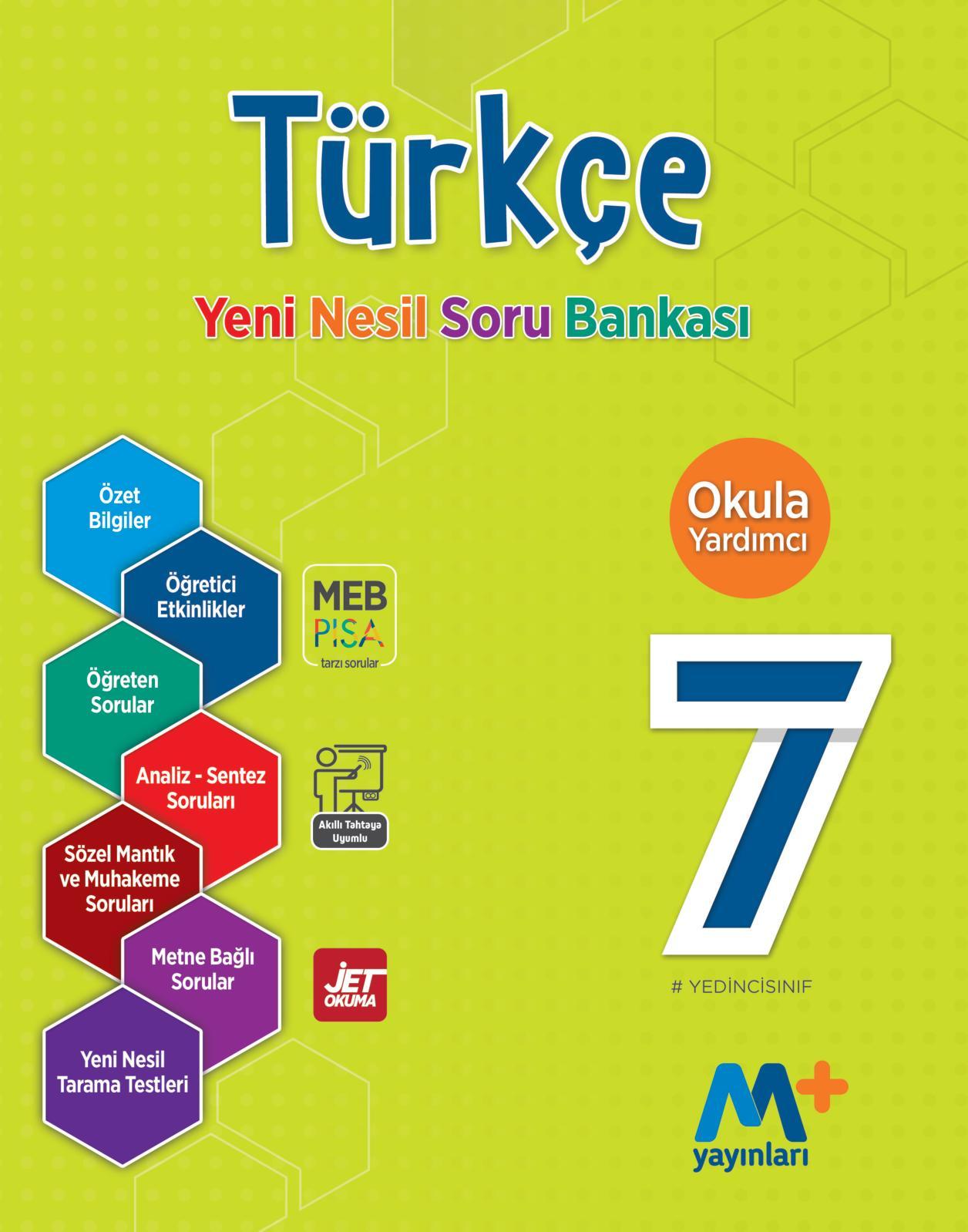 600326a759b4c Calaméo - 7. Sınıf Türkçe Yeni Nesil Soru Bankası