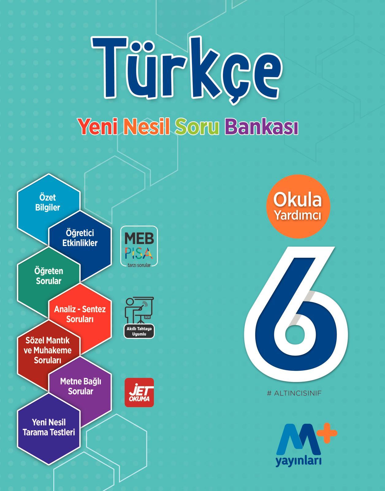 Calameo 6 Sinif Turkce Yeni Nesil Soru Bankasi