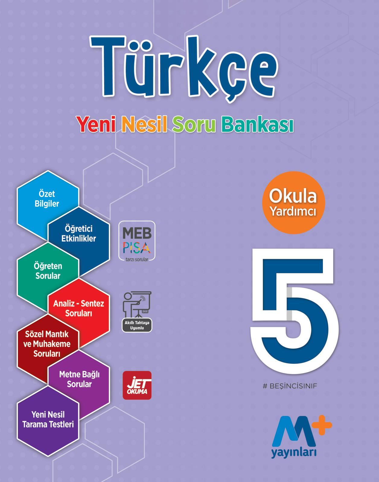 Calameo 5 Sinif Turkce Yeni Nesil Soru Bankasi