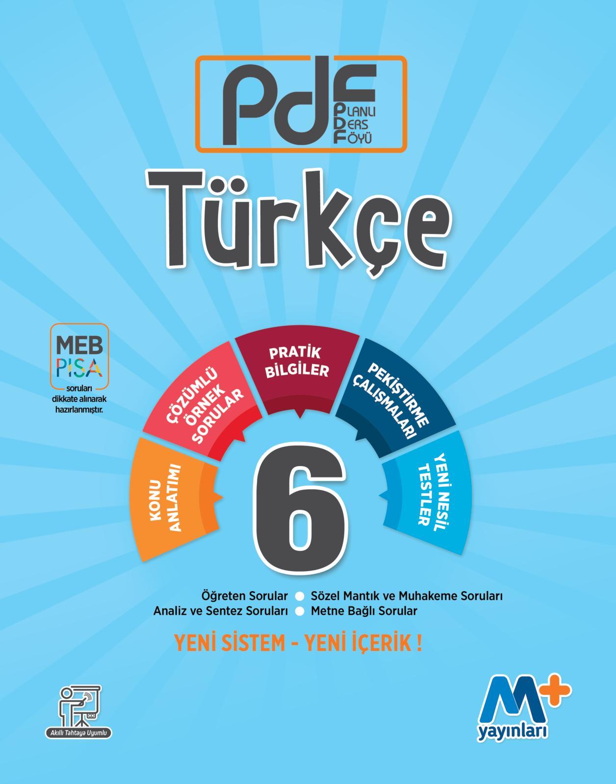 Calameo 6 Sinif Turkce Planli Ders Foyu