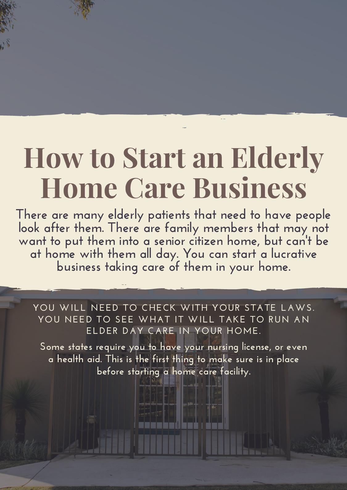 Calaméo How To Start An Elderly Home Care Business
