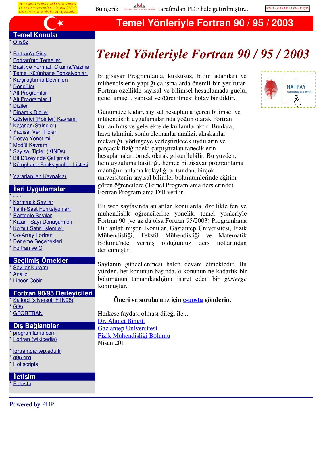 Pascal Programlama Dili Pdf
