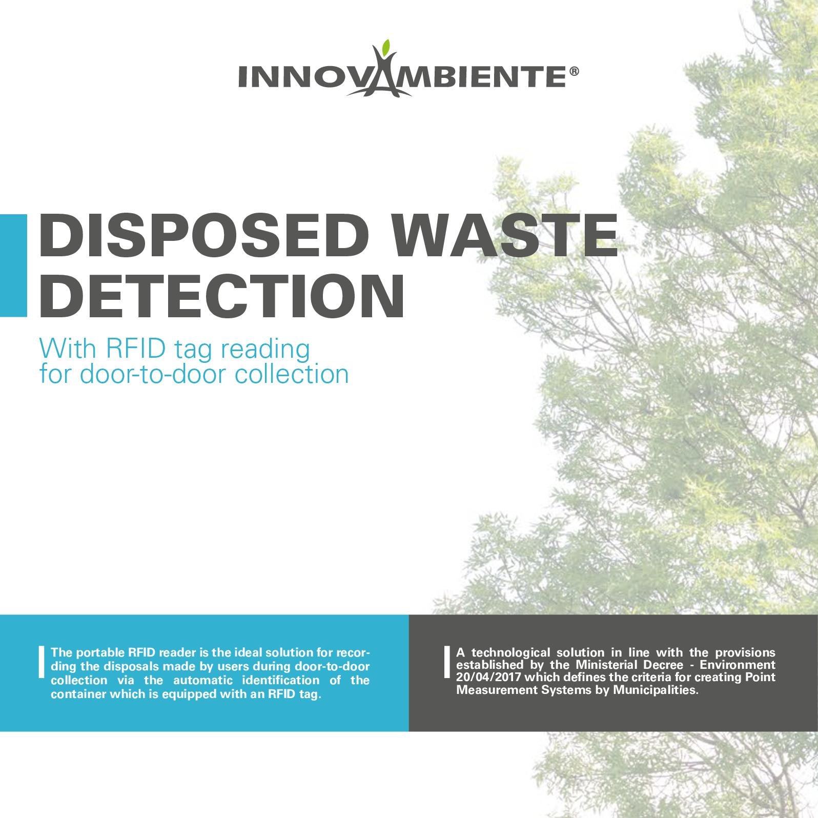 Calaméo - En Disposed Waste Detection Door To Door