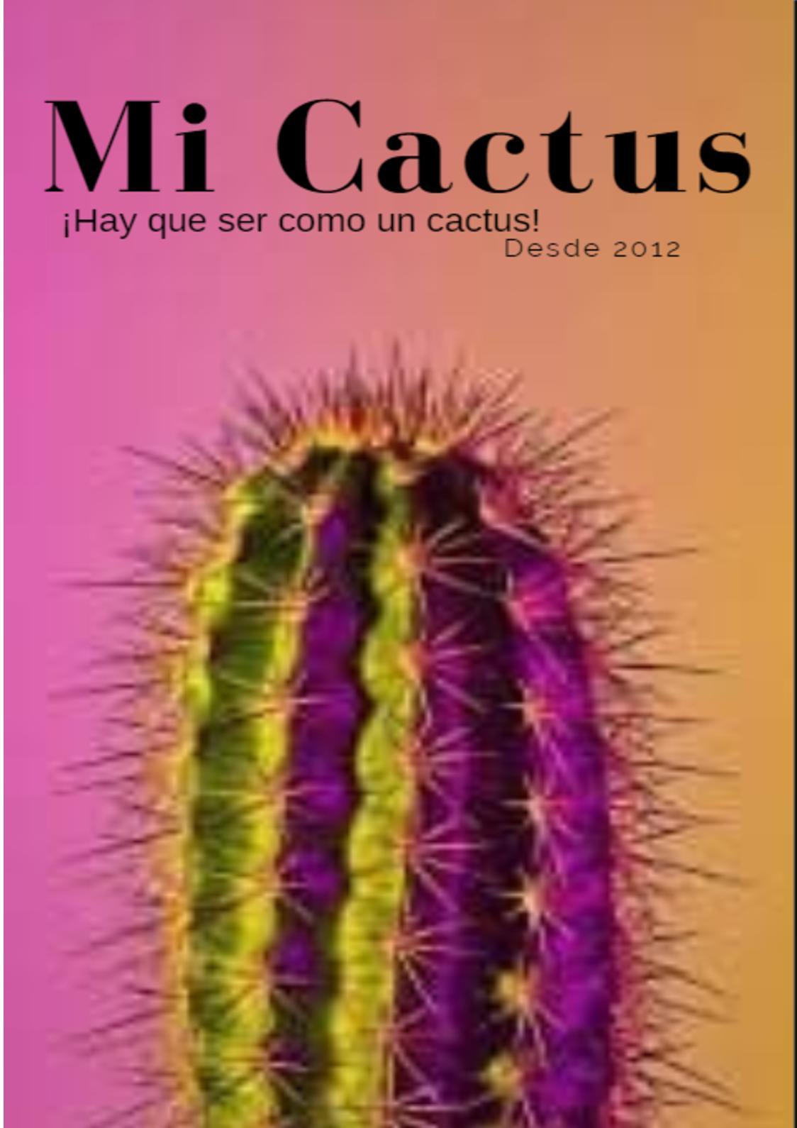 Calaméo Libro Mi Cactus