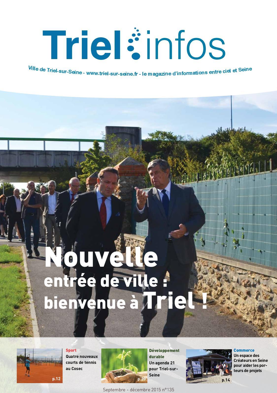 Triel Sur Seine Fr calaméo - triel infos 135 septembre - décembre 2015