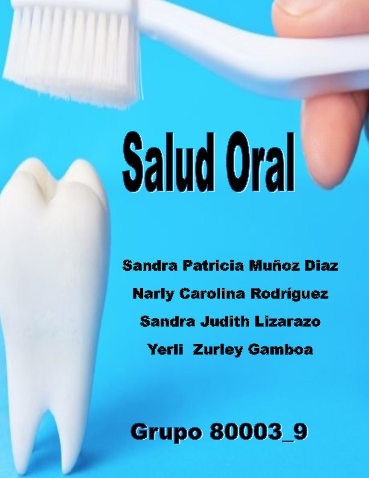 Cartilla Educativa Salud Oral