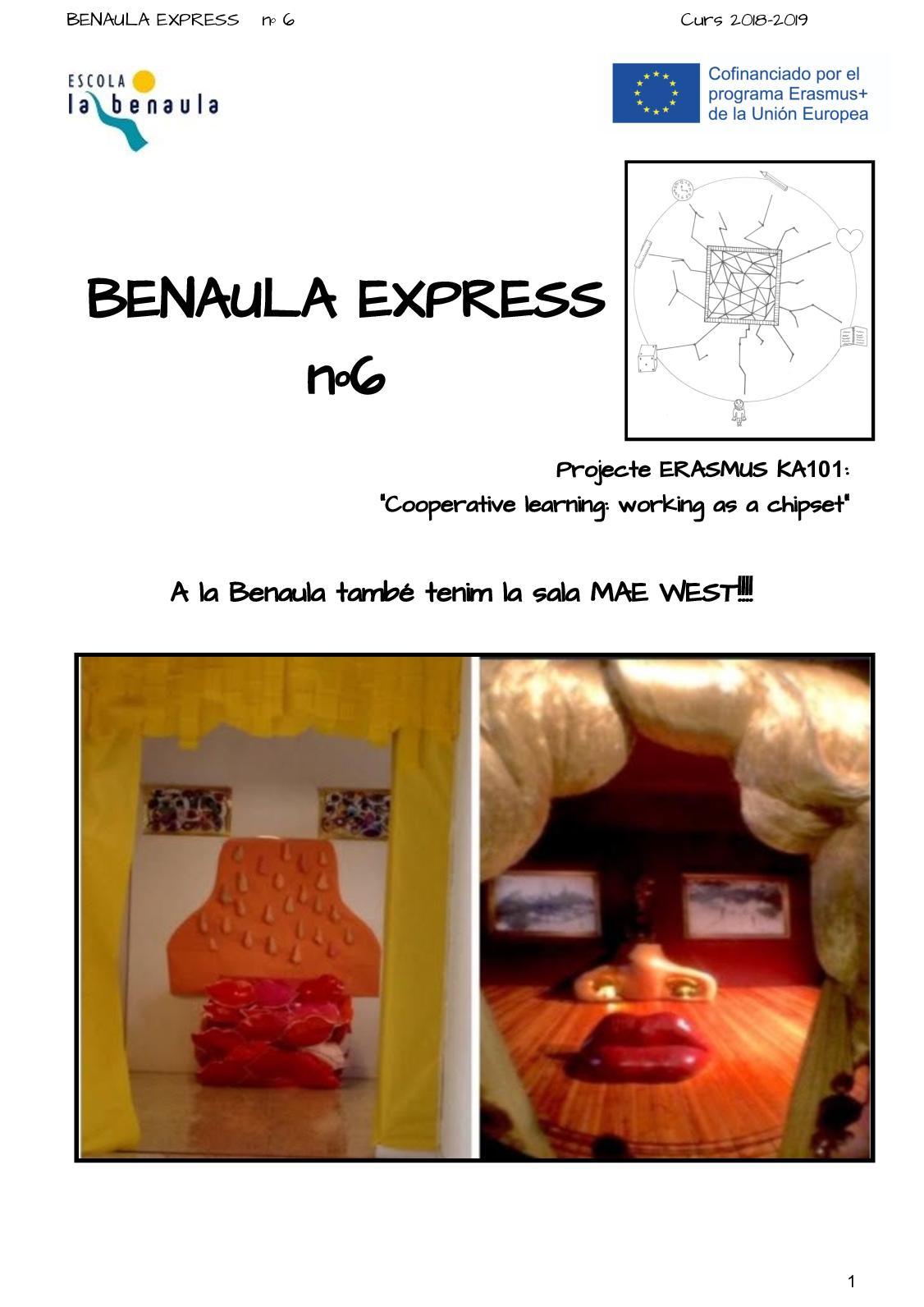 Benaula Express nº6 Curs 18 19
