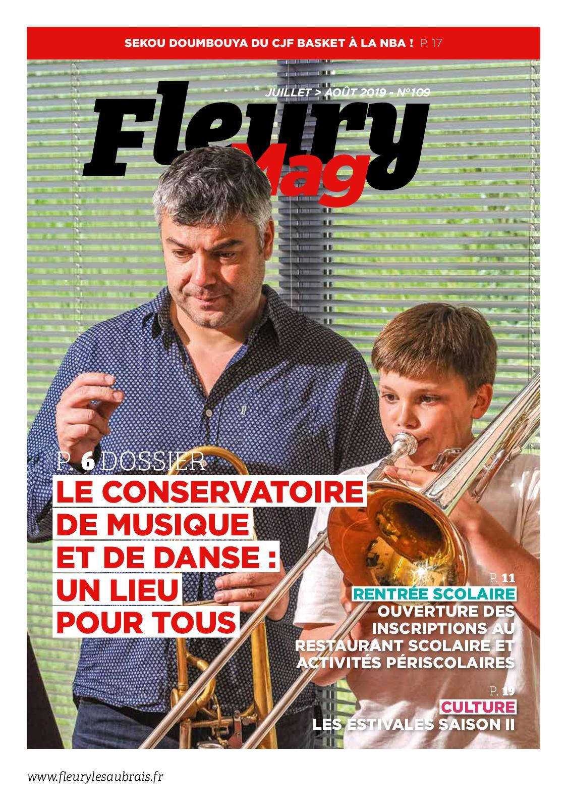 Le Fleury magazine n° 109 - juillet-août 2019