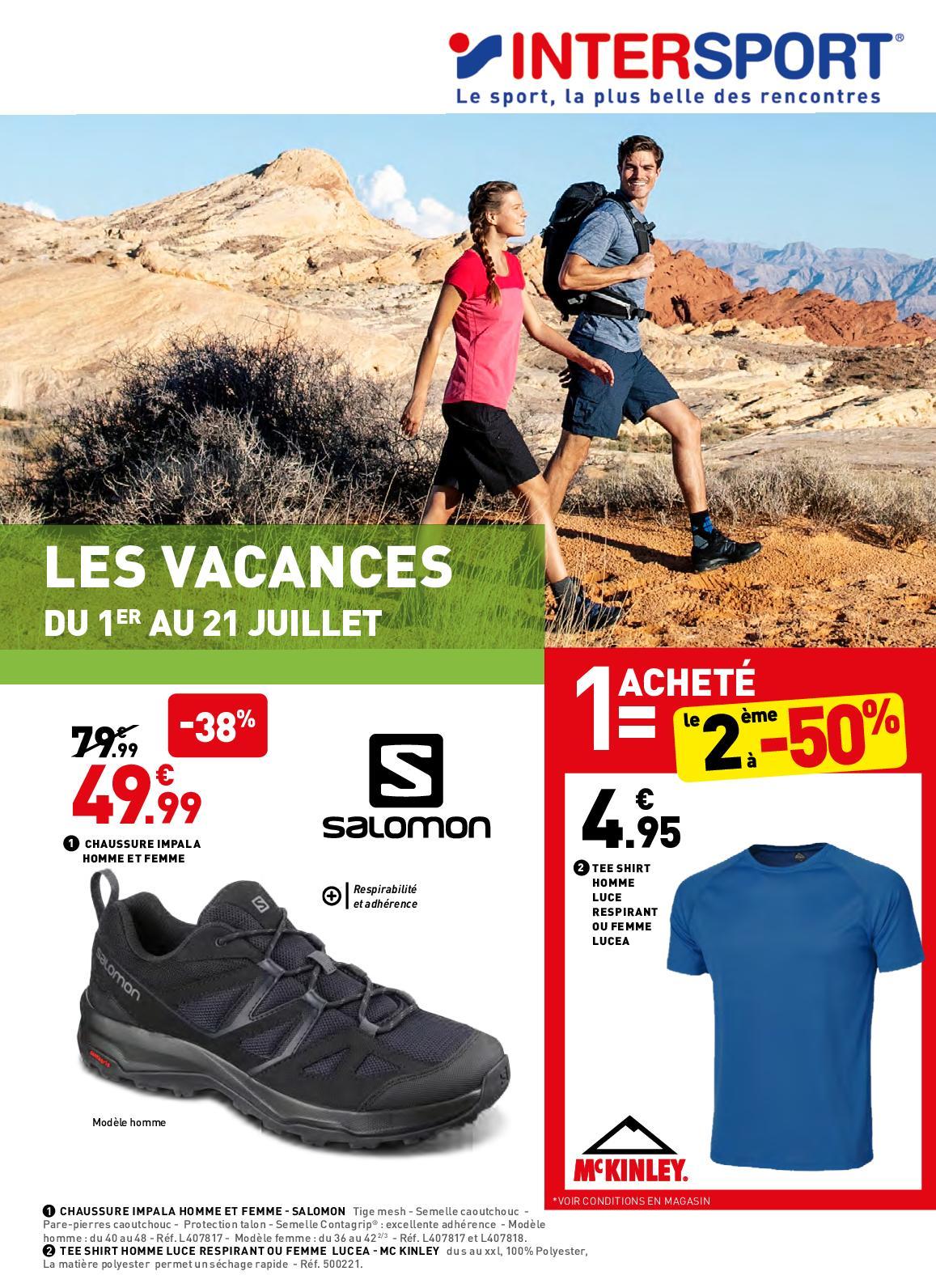 Calaméo Catalogue Intersport Vacances