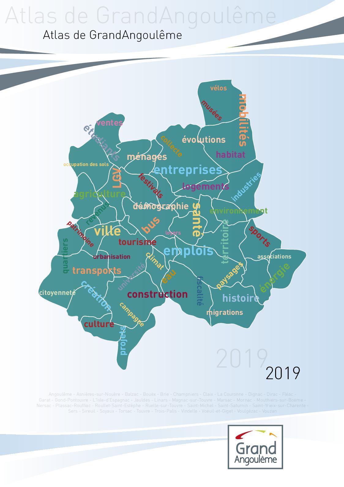 Calaméo Atlas De Grand Angoulême 2019