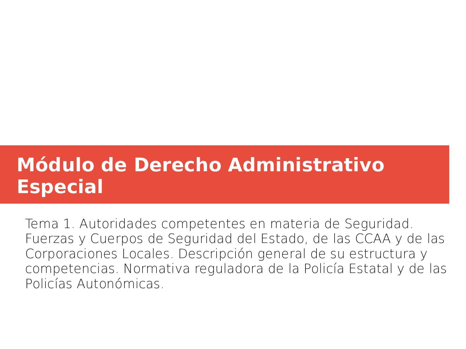 Mdulo De Derecho Administrativo