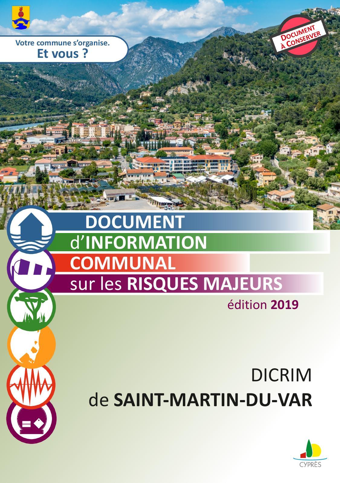 DICRIM de Saint-Martin-du-Var (06)