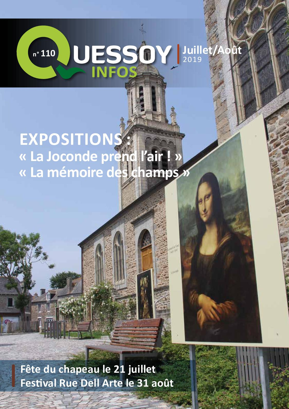 Calameo Magazine Quessoy Infos N 110 Juillet 2019