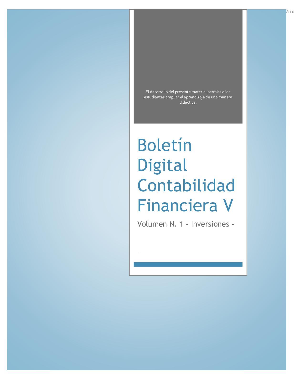 Boletin Digital Volumen 1